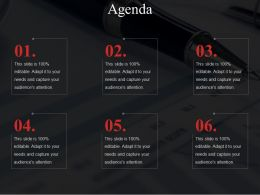 Agenda Powerpoint Guide