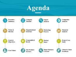 Agenda Powerpoint Guide Template 1