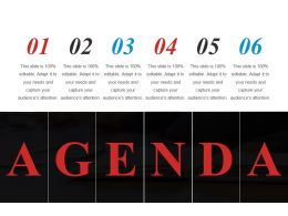 Agenda Powerpoint Images