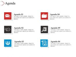 Agenda Powerpoint Layout