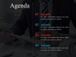 Agenda Powerpoint Slide Background Designs