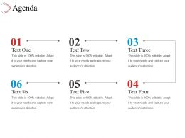 Agenda Powerpoint Slide Background Picture