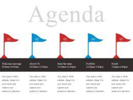 Agenda Powerpoint Slide Deck Template