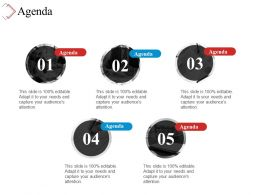 Agenda Powerpoint Slide Introduction