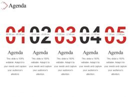 Agenda Powerpoint Slide Themes
