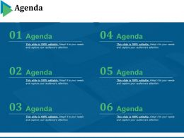 Agenda Powerpoint Slides Design