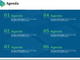 Agenda Powerpoint Slides Design