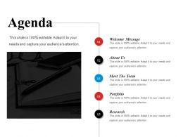 Agenda Ppt Design