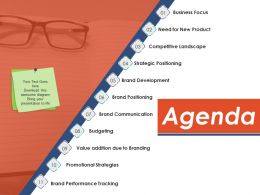 Agenda Ppt Example File Template 1