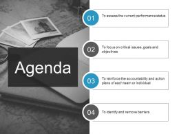 Agenda Ppt Influencers