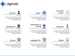 Agenda Ppt Infographic Template Ideas