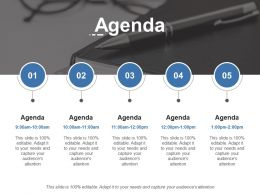 Agenda Ppt Outline Layout