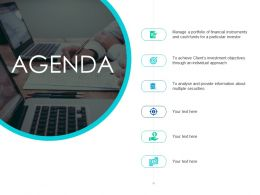 Agenda Ppt Powerpoint Presentation Diagram Ppt