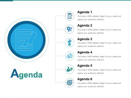Agenda Ppt Shapes