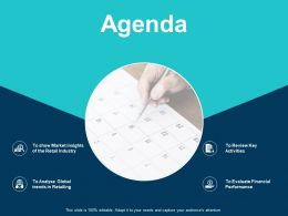 Agenda Ppt Show Layout