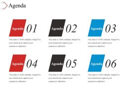 Agenda Ppt Slide Design