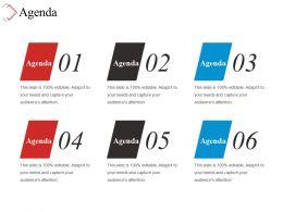 Agenda Ppt Slide Design
