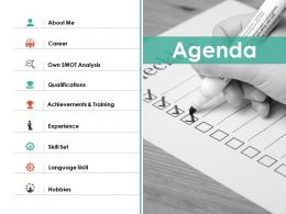 Agenda Ppt Summary Layouts