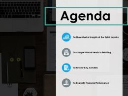 Agenda Ppt Visual Aids Infographic Template