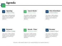 Agenda Ppt Visuals