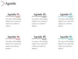 Agenda Presentation Ideas
