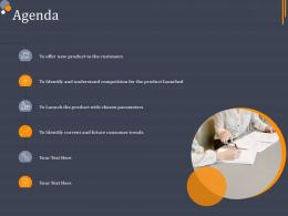 Agenda Product Category Attractive Analysis Ppt Icons