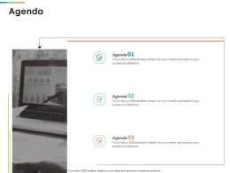 Agenda R412 Ppt Powerpoint Presentation Model Vector