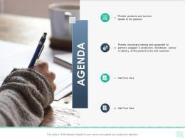 AGENDA Reseller Enablement Strategy Ppt Download