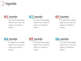 Agenda Sample Of Ppt