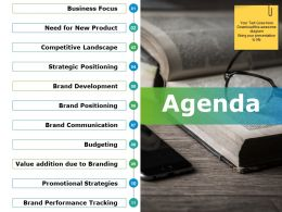 Agenda Sample Of Ppt Template 1