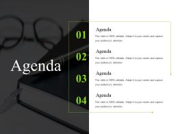 Agenda Sample Of Ppt Template 2