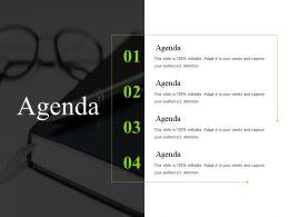 Agenda Sample Of Ppt Template 2