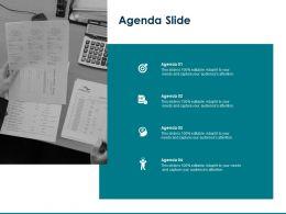 Agenda Slide Capture Audiences Attention Ppt Powerpoint Presentation Sample