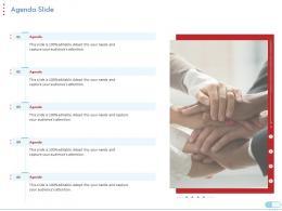 Agenda Slide Coronavirus Impact Assessment Mitigation Strategies Ppt Inspiration Designs