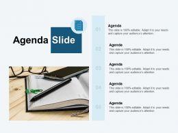 Agenda Slide M3024 Ppt Powerpoint Presentation Model Clipart
