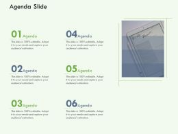 Agenda Slide M3125 Ppt Powerpoint Presentation Inspiration Grid