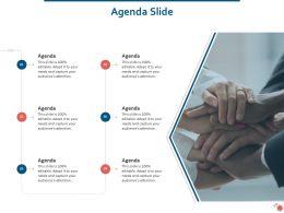 Agenda Slide Strategies On Convention Ppt Powerpoint Presentation Files