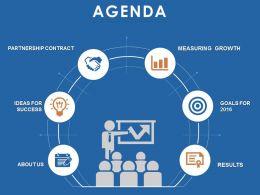 19933976 Style Essentials 1 Agenda 6 Piece Powerpoint Presentation Diagram Infographic Slide
