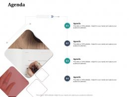 Agenda System Integration Work Breakdown Structure Wbs Ppt Infographic Template Slide Portrait