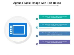 Agenda Tablet Image With Text Boxes