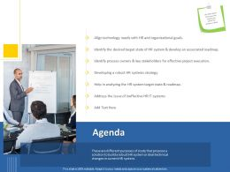 Agenda Target State M1252 Ppt Powerpoint Presentation Layouts Layout