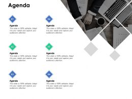 Agenda Technology B258 Ppt Powerpoint Presentation Diagram Ppt
