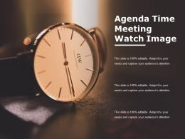 Agenda Time Meeting Watch Image
