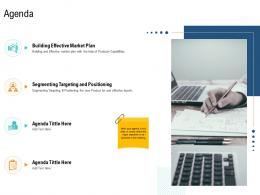 Agenda Unique Selling Proposition Of Product Ppt Brochure