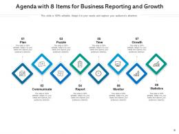 Agenda With 8 Items Organizational Success Research Innovation Planning