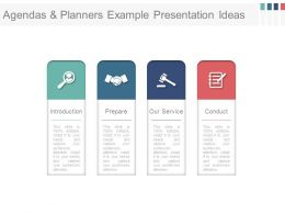 Agendas And Planners Example Presentation Ideas