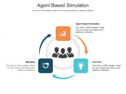 Agent Based Simulation Ppt Powerpoint Presentation Infographic Template Information Cpb