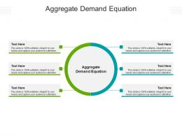 Aggregate Demand Equation Ppt Powerpoint Presentation Ideas Sample Cpb