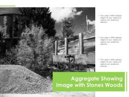 Aggregate Showing Image With Stones Woods
