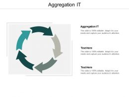 Aggregation It Ppt Powerpoint Presentation Model Professional Cpb